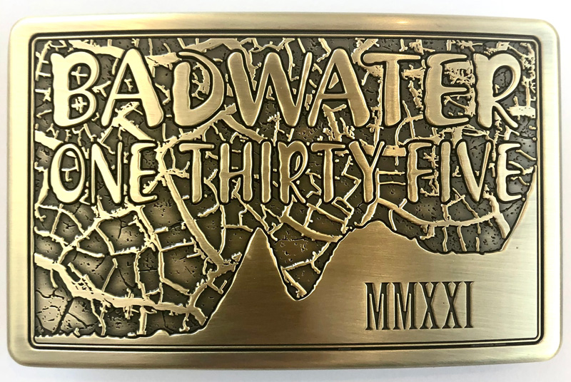 Badwater 135 buckle 2021